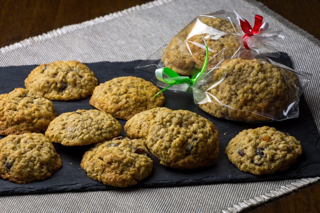 Oat and Cranberry Cookies