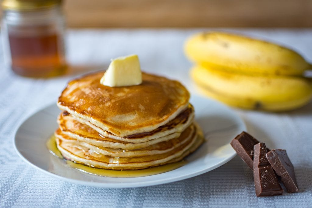 Overnight Sourdough Pancakes
