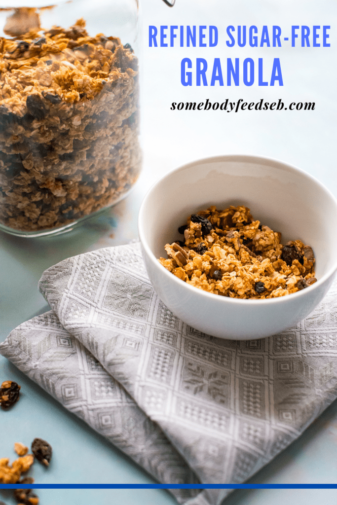 Home-Made Granola with Egg Whites