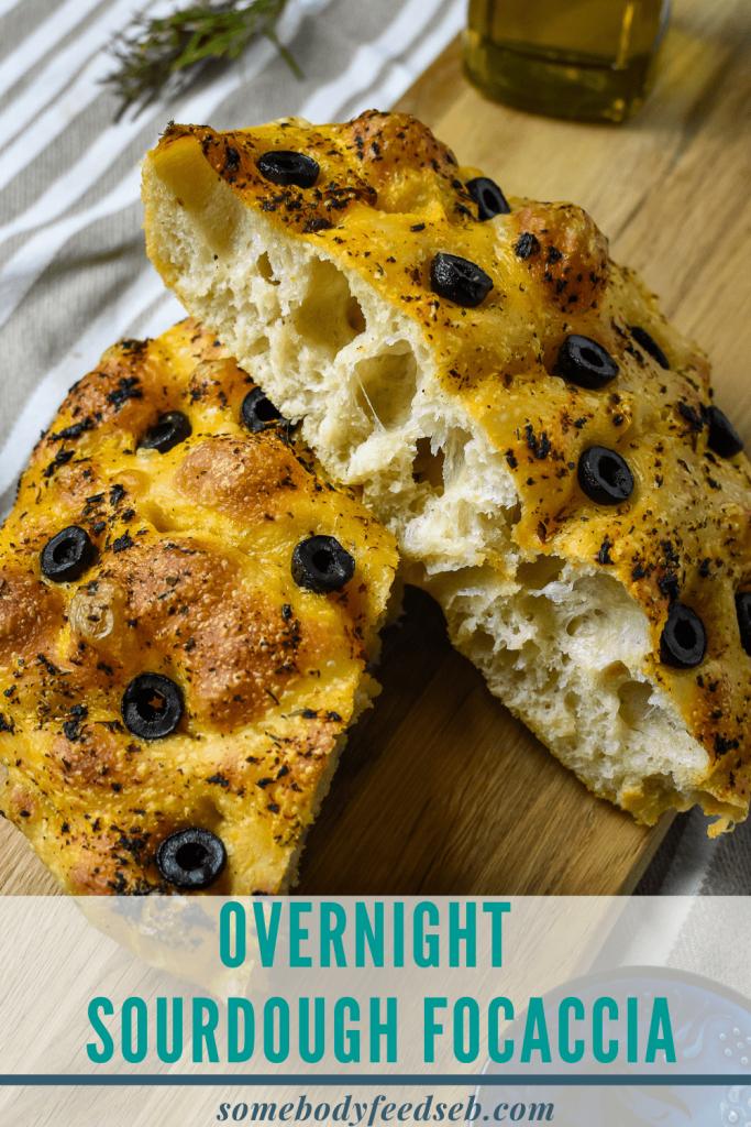 Overnight Sourdough Focaccia