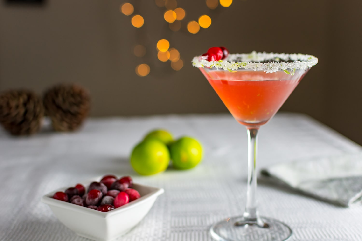 Cranberry and Brandy Cocktail