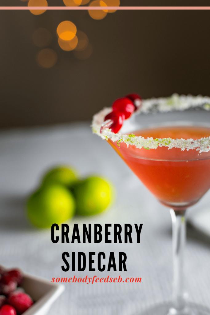 Cranberry Sidecar