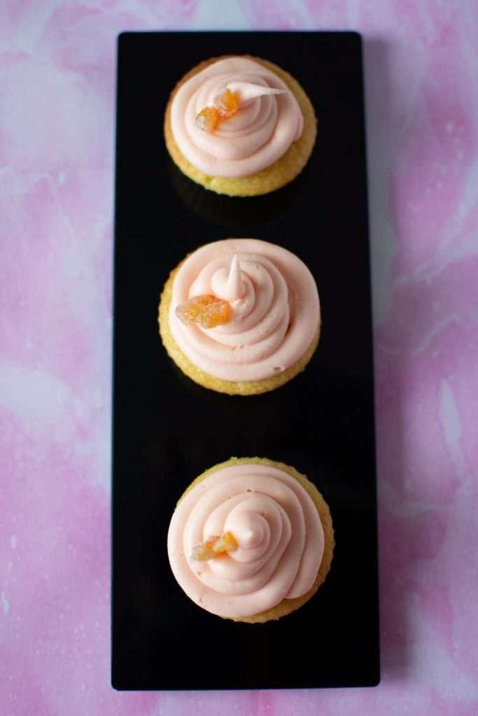 Vegan Grapefruit Cupcakes