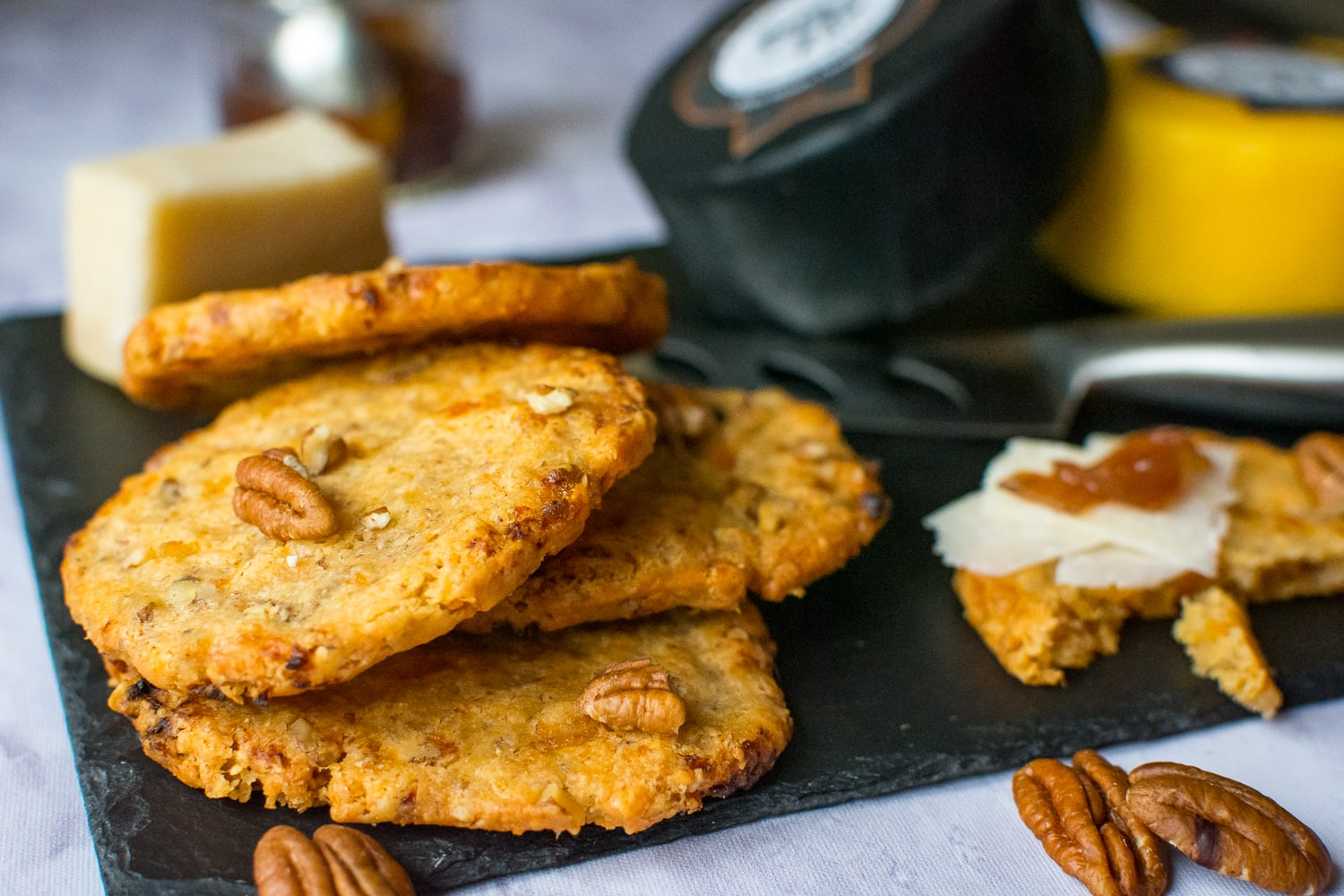 Pecan Cheese Biscuits