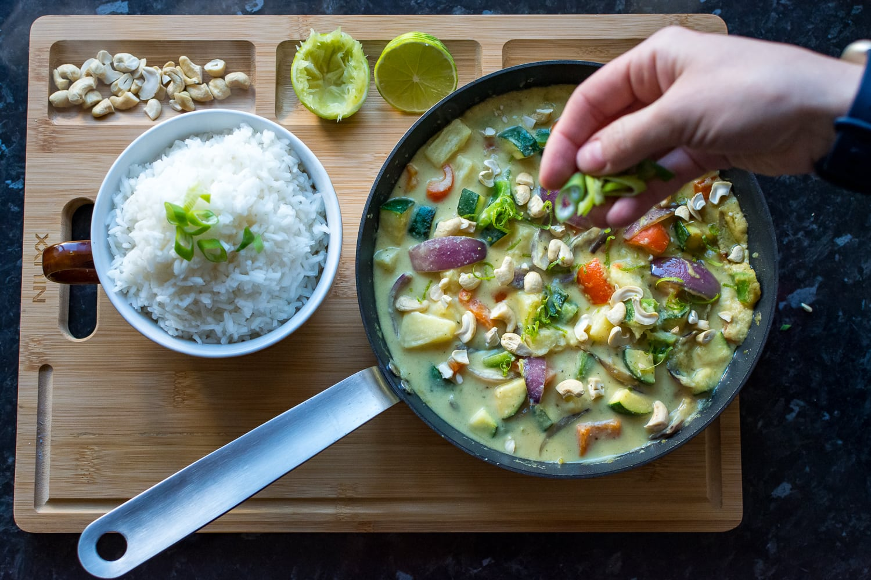 Vegan Caribbean Curry