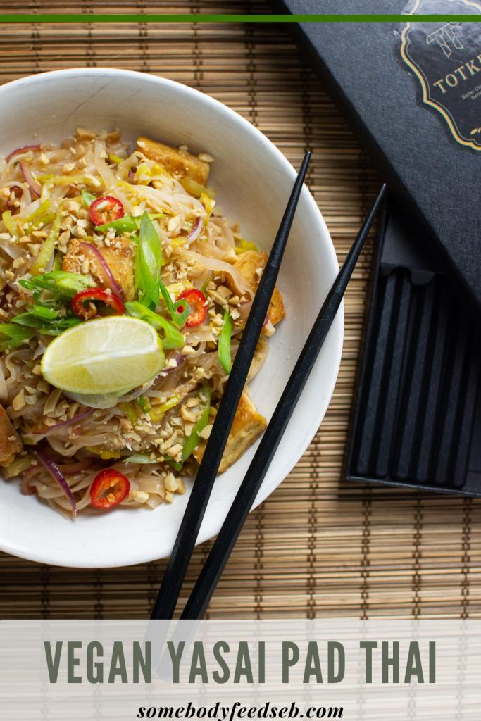 Vegan Yasai Pad Thai