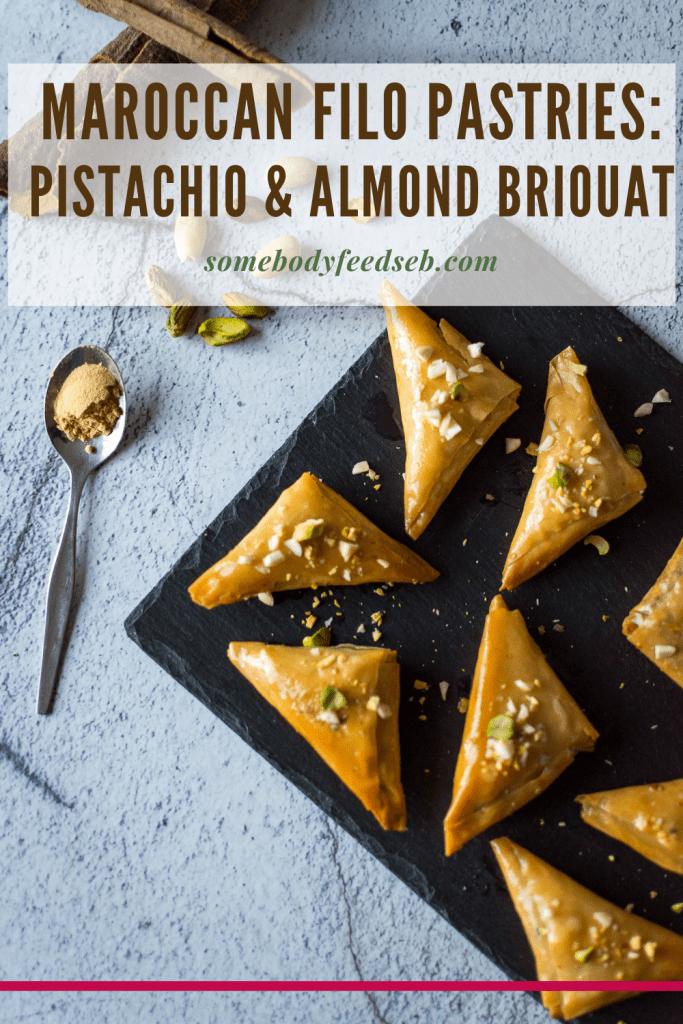 Pistachio Briouat