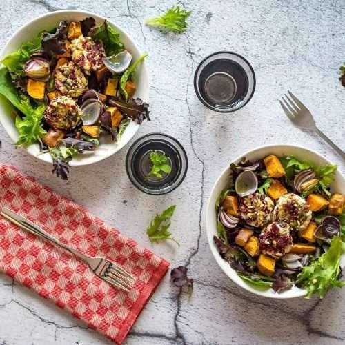Goats Cheese & Sweet Potato Salad