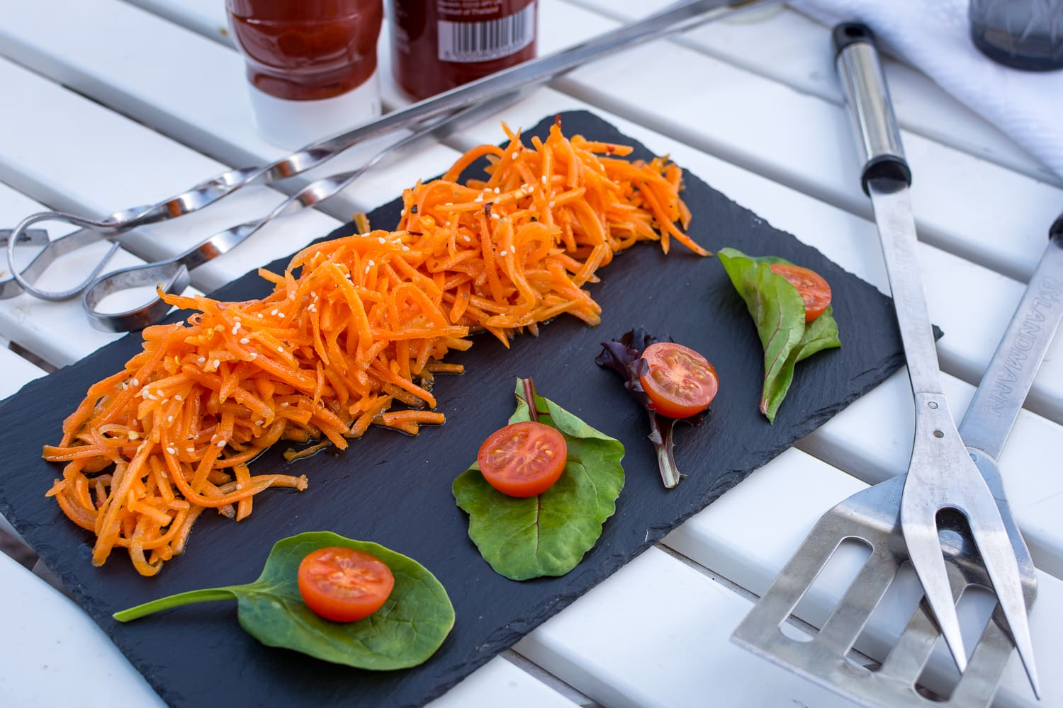 spicy carrot slaw