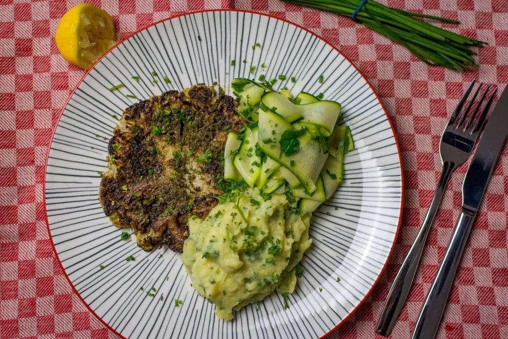 Zhoug Cauliflower Steak