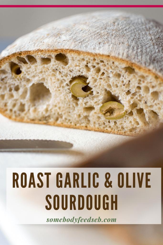 Green Olive Sourdough