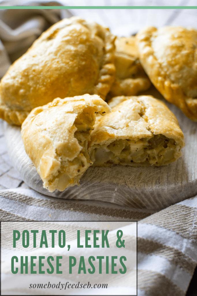 Leek & Cheese Pasties